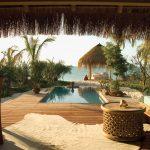 Uitzicht villa - Azura Benguerra Lodge