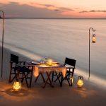 Diner op het strand - Benguerra Lodge - &Beyond