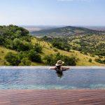 Zwembad met uitzicht - Sasakwa Lodge Singita