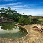 Zwembad met uitzicht - ol Donyo Lodge - Great Plains Conservation