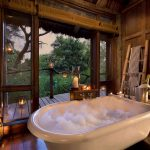 Badkamer - Lake Manyara Tree Lodge - AndBeyond