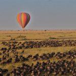 Hot air balloon Wildebeest Migratie - Nyati House - Saruni (mood)