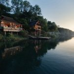 Ligging - Tongabezi Lodge