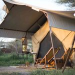Ligging tent - Serengeti Under Canvas - AndBeyond
