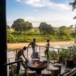 Terras met uitzicht - Ebony Lodge - Singita