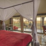 Uitzicht tent - Kimondo Migration Camp - Asilia Camps & Lodges