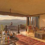 Uitzicht villa - Samburu - Saruni