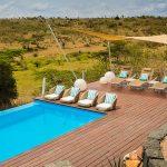Uitzicht zwembad - Mahali Mzuri - Virgin Limited Edition
